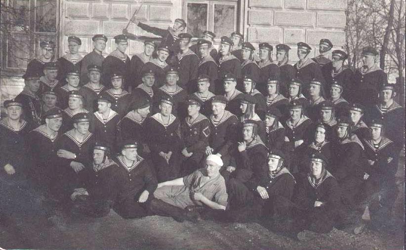 Naval base school. Liepaja